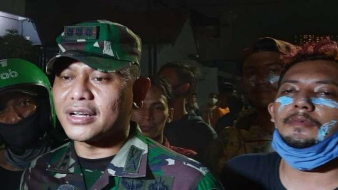 Dandim 0501/JP BS Kolonel Inf Luqman Arief