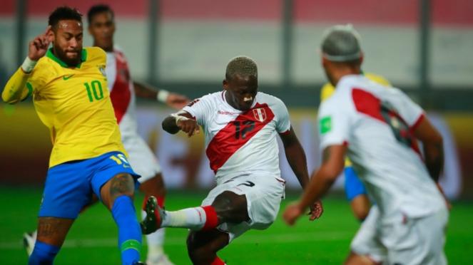 Duel Peru vs Brasil di Kualifikasi Piala Dunia 2022