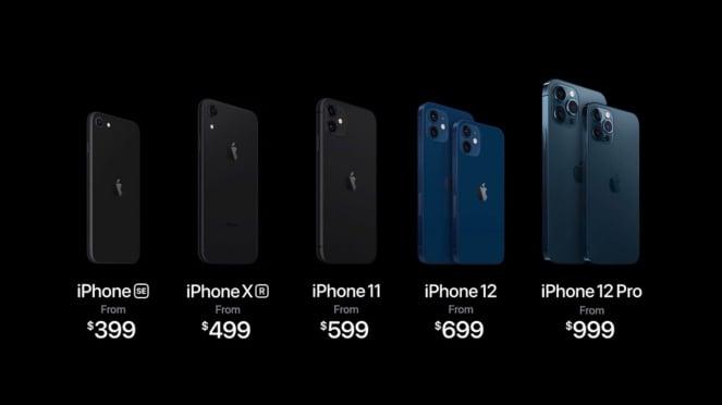 Apple Luncurkan iPhone 12, Mini, Pro, Pro Max Dan HomePod Mini