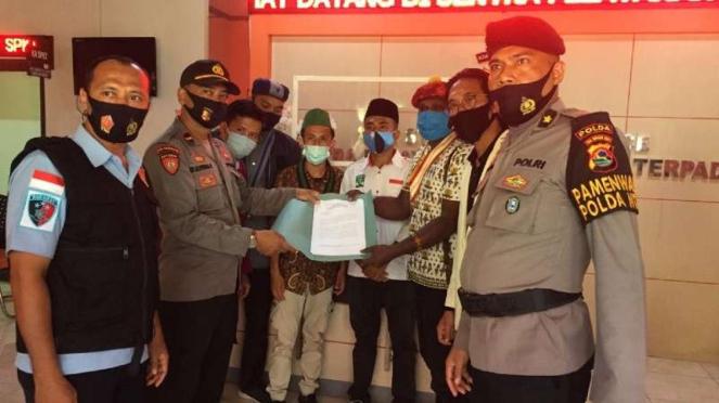 Mahasiswa laporkan Menko Airlangga Hartarto ke Polda NTB