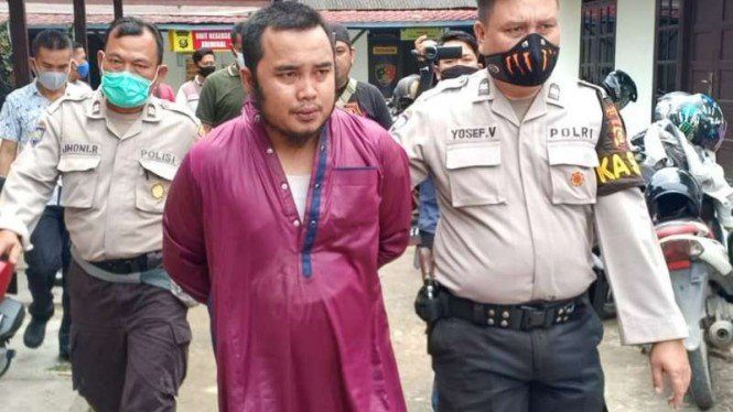 Guru ngaji cabul ditangkap polisi