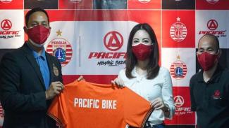 Kerjasama Pacific Bike dan Persija