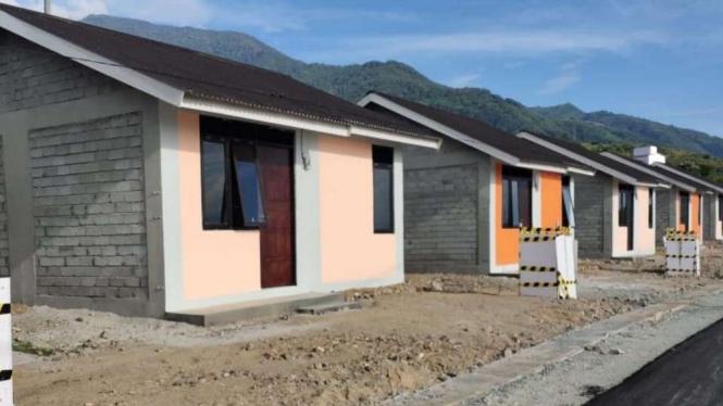 Hunian Tetap untuk korban bencana Sulawesi Tengah.
