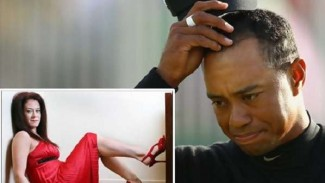 Tiger Woods dan Mindy Lawton