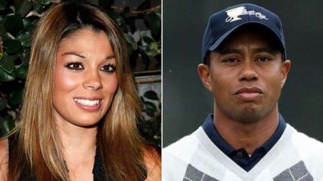 Tiger Woods dan salah satu selinggkuhannya, Jaimee Grubbs