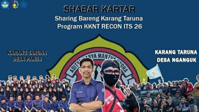 Program SHABAR KARTAR (Sharing Bareng Karang Taruna) sebagai Program KKN Tematik oleh Tim ITS 26