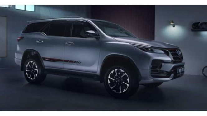 Toyota New Fortuner resmi meluncur di Indonesia