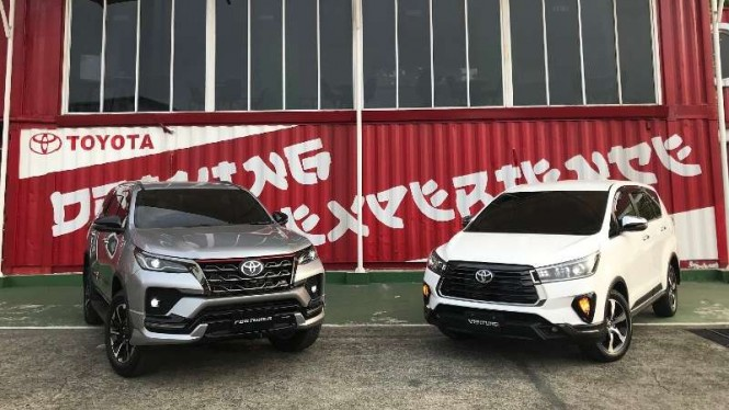 Toyota Fortuner dan Innova baru