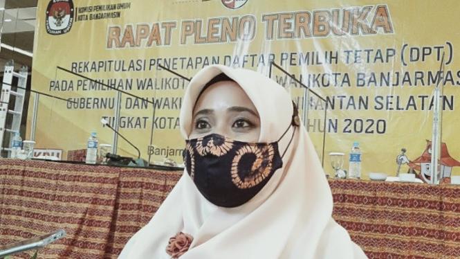 Ketua KPU Banjarmasin Rahmiyati Wahdah (antara)