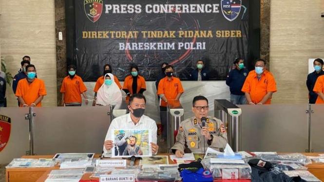 Polisi merilis kasus yang melibatkan aktivis KAMI
