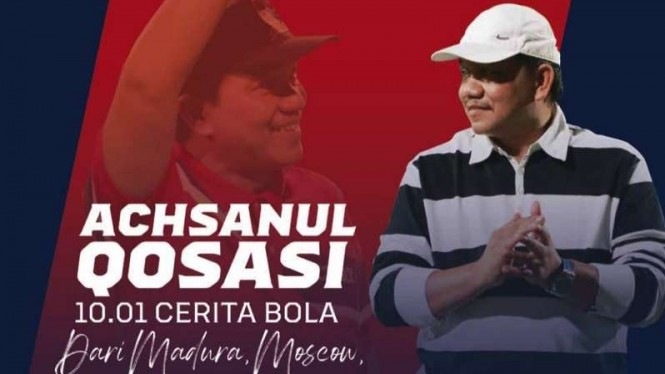 Presiden MU, Achsanul Qosasi terbitkan buku memoar