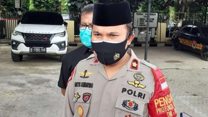 Kapolsek Jatiuwung Kompol Aditya Sembiring