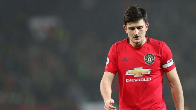 Kapten Manchester United, Harry Maguire