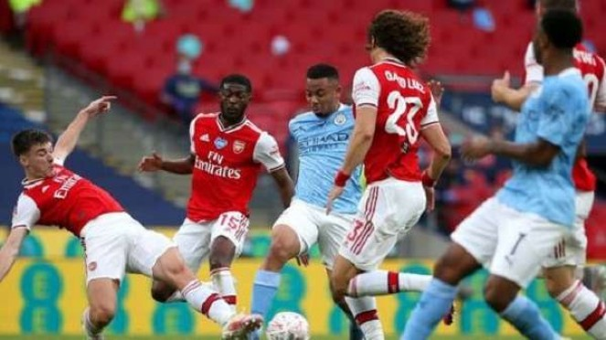Duel Manchester City vs Arsenal