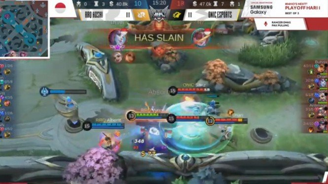 Playoff Mobile Legends Season 6: Onic Esports Vs RRQ Hoshi.