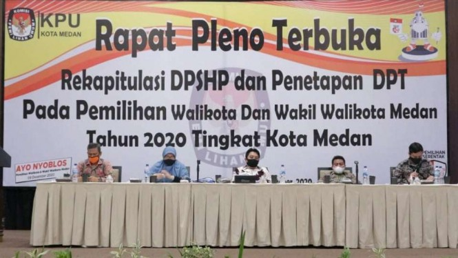 KPU Kota Medan.