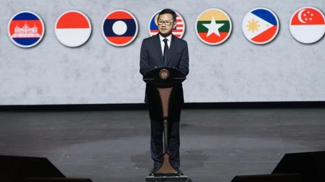 Ketua Umum Persatuan Insinyur Indonesia (PII) Heru Dewanto