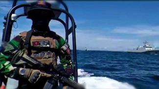 VIVA Militer: Kopaska TNI siaga di Ambalat.