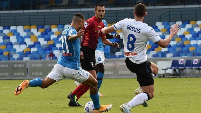 Usai Kalah Tanpa Keringat Dari Juventus Napoli Bantai Atalanta