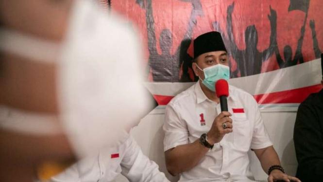 Calon Wali Kota Surabaya nomor urut satu, Eri Cahyadi
