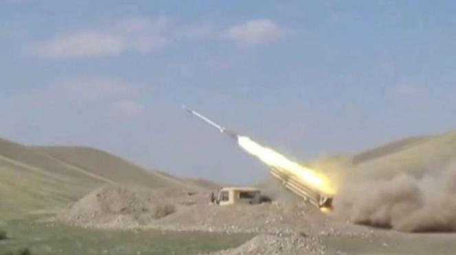 VIVA Militer: Serangan roket Angkatan Bersenjata Azerbaijan