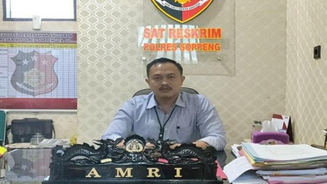 AKP Amri selaku Kepala Satuan Reserse Kriminal Polres Soppeng