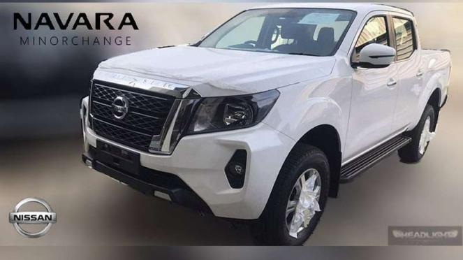 Bocoran tampilan Nissan Navara baru