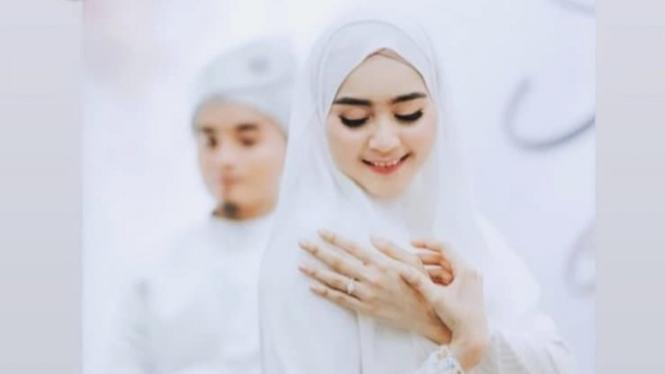 Pernikahan Taqy Malik dengan Sherel Thalib