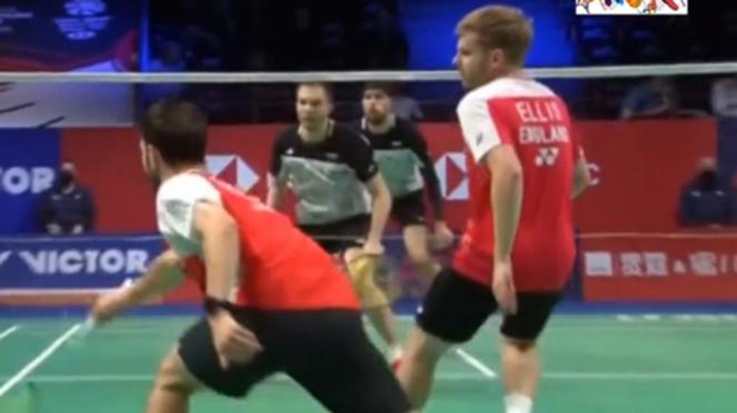 VIVA Bulutangkis: Final ganda putra Denmark Open 2020.