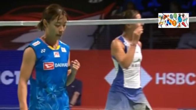 VIVA Bulutangkis: Final Denmark Open 2020 Nozomi Okuhara Vs Carolina Marin.