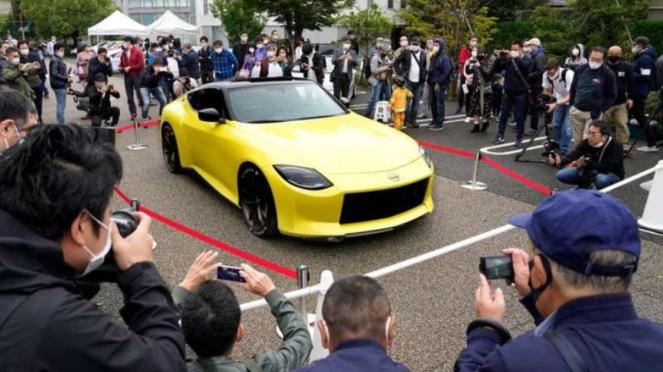 Penerus Nissan Z tampil perdana di area publik.