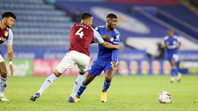 Pertandingan Leicester City vs Aston Villa