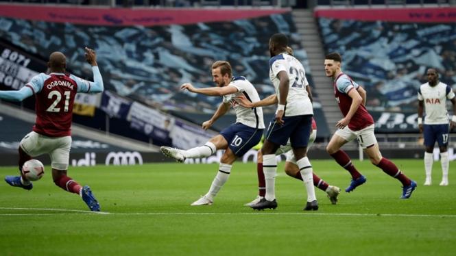 Pertandingan Tottenham Hotspur vs West Ham United