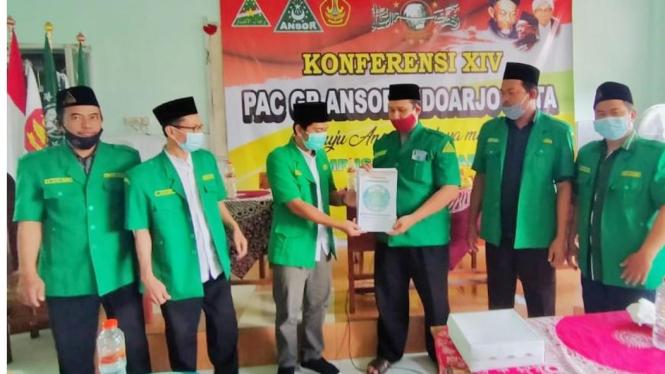 Foto istimewa : ketua terpilih 3 dari kanan M. H Fendra IS
