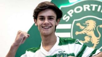 Luis Gomes, pemain Sporting Lisbon yang disebut sebagai titisan Luis Figo