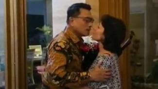 VIVA Militer: Jenderal TNI (purn) Moeldoko dan Nyonya Koesni.