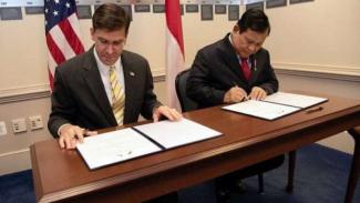 VIVA Militer: Letjen TNI (Purn.) Prabowo Subianto dan Menhan AS, Mark Esper