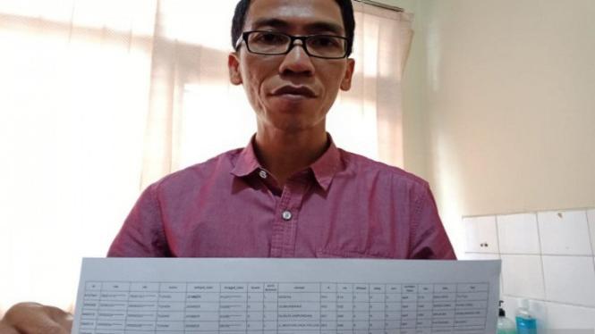 Komisioner KPU Jember Ahmad Hanafi (antara)