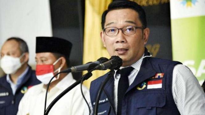 Gubernur Jawa Barat, Ridwan Kamil.