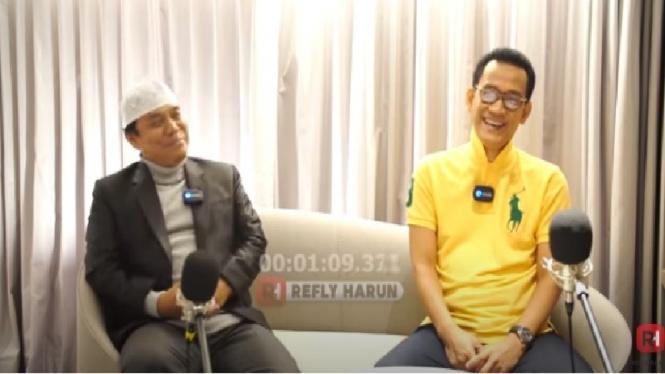 Gus Nur bersama Refly Harun