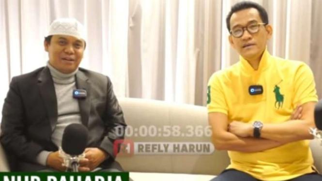 Gus Nur dalam wawancara dengan Refly Harun.