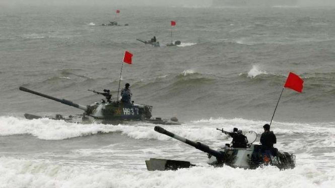 VIVA Militer: Armada tank Tentara Pembebasan Rakyat China (PLA)