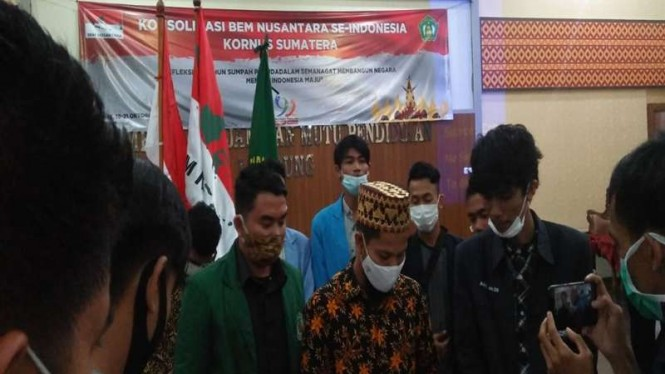BEM Nusantara Sumatera menggelar konsolidasi