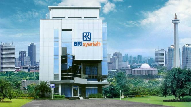 Dokumentasi - Gedung BRIsyariah. Rencananya, hasil merger Bank Syariah BUMN bernama PT Bank BRIsyariah Tbk.