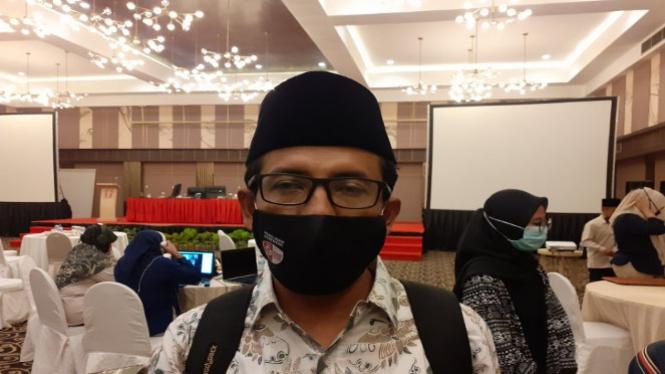 Komisioner KPU Sumatera Barat Nova Indra