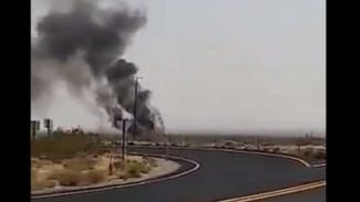VIVA Militer : Jet tempur Super Hornet AS jatuh dan meledak di California