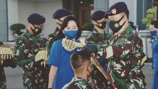 VIVA Militer : Pangkoarmada II gelar upacara penyambutan Perwira Remaja TNI AL