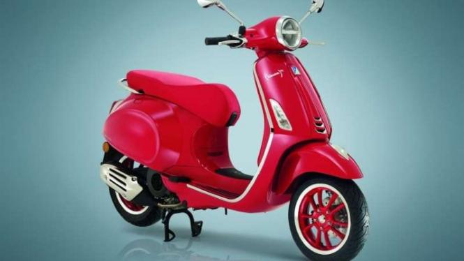 Vespa Primavera RED Edition dijual di Indonesia