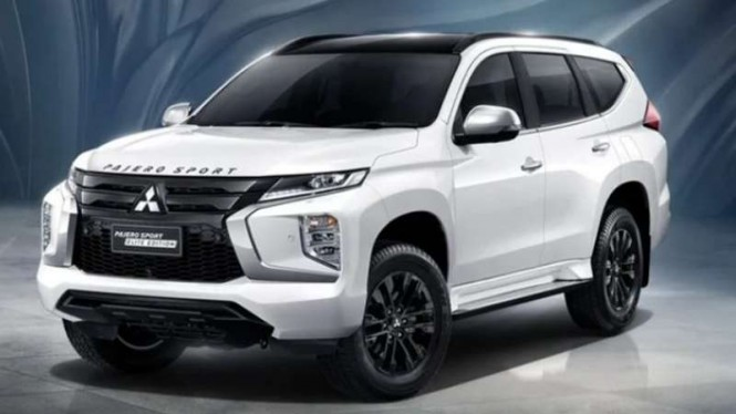Model baru Mitsubishi Pajero Sport