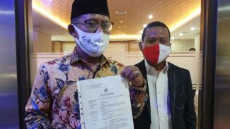 Gus Nur dilaporkan ke Bareskrim Polri
